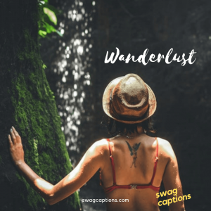 one word captions - wanderlust