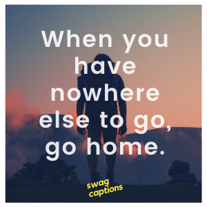 Funny Stay at Home Captions
