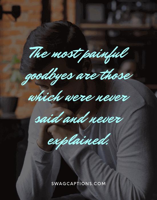 Sad Captions For Instagram